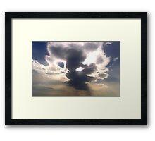 Cloud Over Irish Sea Framed Print