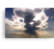 Cloud Over Irish Sea Canvas Print