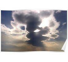 Cloud Over Irish Sea Poster