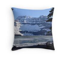 Cameron Lake, Waterton Park Throw Pillow