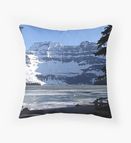 Cameron Lake, Waterton Park Throw Pillow