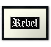 Mean Girls - Rebel Framed Print