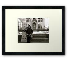 Love Wins.  Framed Print