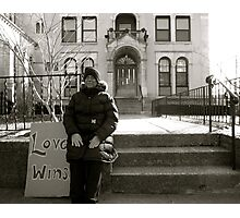 Love Wins.  Photographic Print