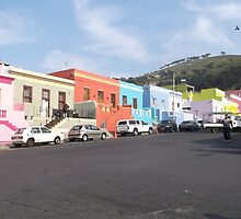 Bo Kaap Houses 2, Cape Town, South Africa by sbrosszell