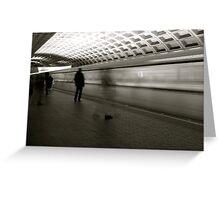 Metro Rush  Greeting Card
