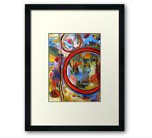 Social Climbers Framed Print