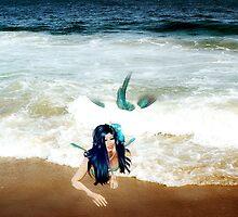 Mermaid on the beach..... by DDLeach
