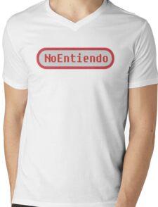 noentiendo Mens V-Neck T-Shirt