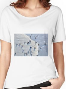 Sea Shells at the Beach Women's Relaxed Fit T-Shirt