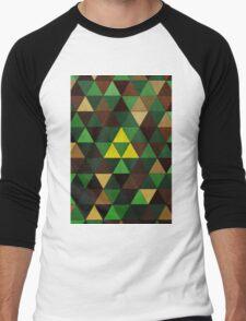 Triforce Quest Men's Baseball ¾ T-Shirt