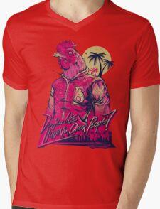 hotline miami richard Mens V-Neck T-Shirt