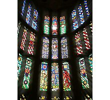 Henry VIII Stained Glass At Hampton Court Photographic Print