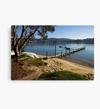 Merimbula Lake Canvas Print