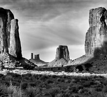 North Window, Monument Valley by Mitchell Tillison