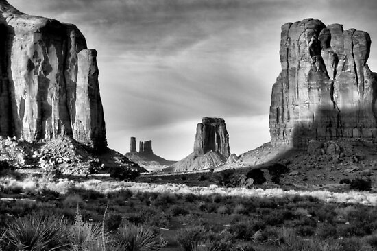 North Window, Monument Valley by Mitchell Tillison