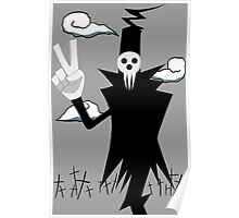 soul eater death anime manga shirt Poster