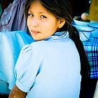 Girl in Blue by schugirl