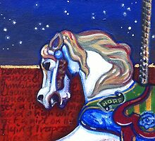 Carousel Horse by Nicole Murray