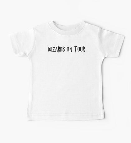 WIZARDS ON TOUR Baby Tee