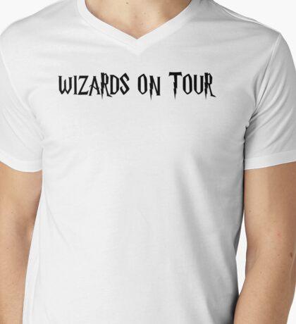 WIZARDS ON TOUR Mens V-Neck T-Shirt