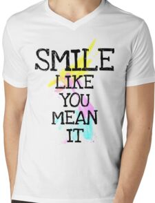 smile like... Mens V-Neck T-Shirt