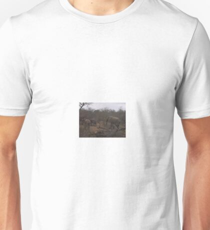 Elephant Herd 2, Limpopo, South Africa Unisex T-Shirt