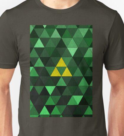 Triforce Quest (Green) Unisex T-Shirt