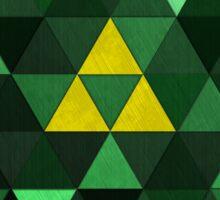 Triforce Quest (Green) Sticker