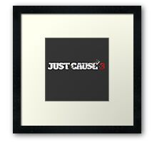 Just Cause 3 Logo Framed Print