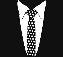 New Tuxedo Polka Tie gradua Formal Unisex T-Shirt