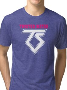 New TWISTED SISTER Old School Rock Band Tri-blend T-Shirt