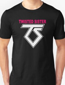 New TWISTED SISTER Old School Rock Band Unisex T-Shirt