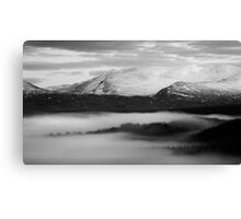 Glen Spean - The End Of A Day Canvas Print