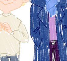 Sherlock and John: Cuties Sticker