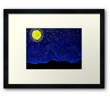 We are all Stardust-Milky Way Framed Print
