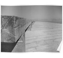 Boardwalk to Dead Sea Poster