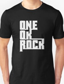 One OK Rock japanese rock band black Unisex T-Shirt