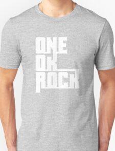 One OK Rock japanese rock band black T-Shirt