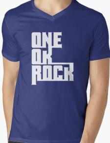 One OK Rock japanese rock band black Mens V-Neck T-Shirt