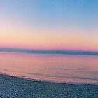 Purple Beach (panorama) by James Zickmantel