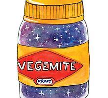Space Vegemite by jessthechen