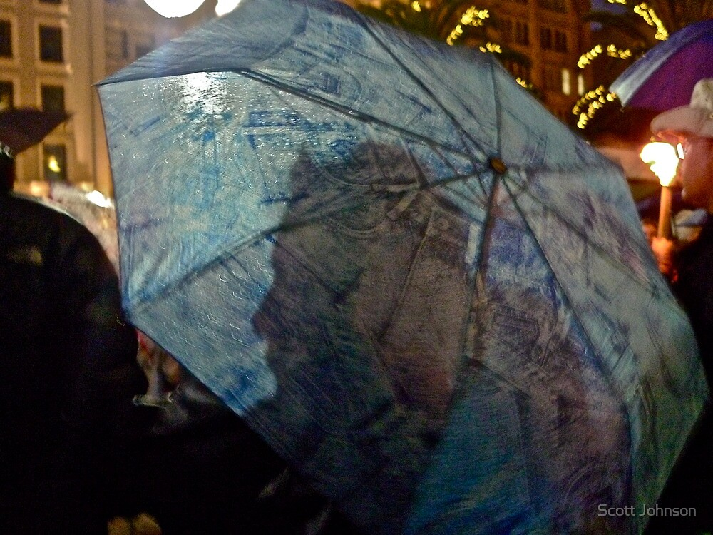 A Face In The Crowd, San Francisco, CA, 12/10 by Scott Johnson