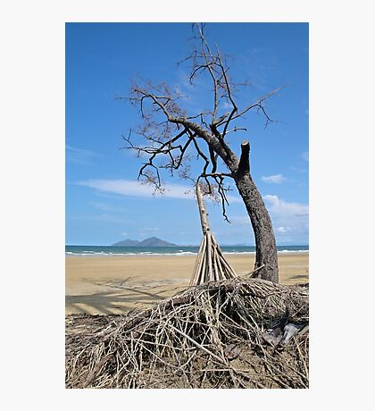 Dunk Island from North Mission Beach Photographic Print