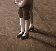 Feet Awaiting to Tap Dance by Denice Breaux
