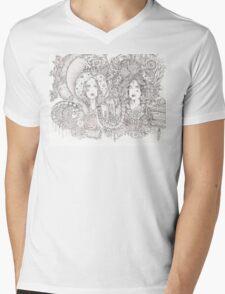 val Mens V-Neck T-Shirt