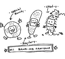Mi Band Aid Famiglia by Ollie Brock