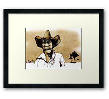 stockman Framed Print