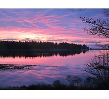 Sunrise over Oak Island, Nova Scotia Photographic Print