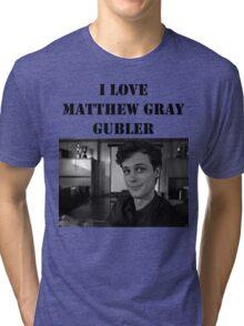 I <3 Matthew Gubler Tee Tri-blend T-Shirt